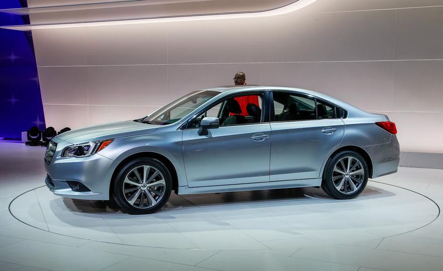 2015 Subaru Legacy - Slide 9