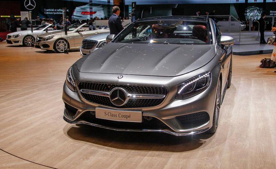 2015 Mercedes-Benz S-class Coupe - Slide 1