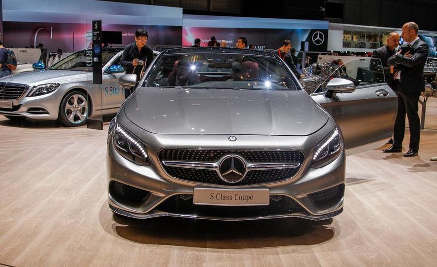 2015 Mercedes-Benz S-class Coupe - Slide 2