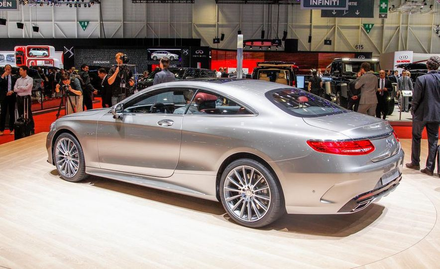 2015 Mercedes-Benz S-class Coupe - Slide 7