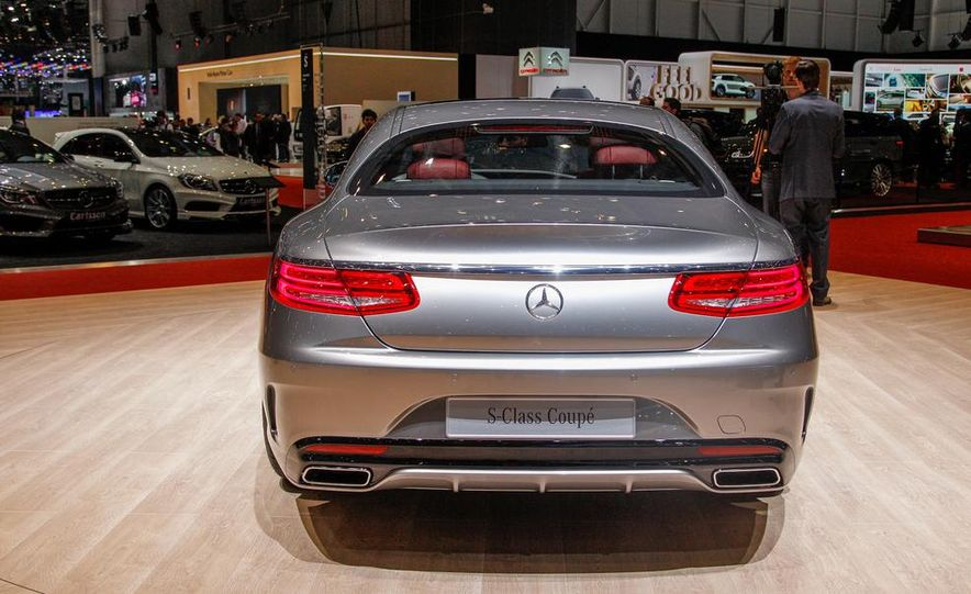 2015 Mercedes-Benz S-class Coupe - Slide 9