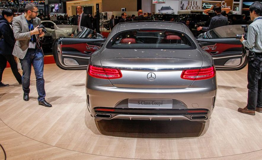 2015 Mercedes-Benz S-class Coupe - Slide 15