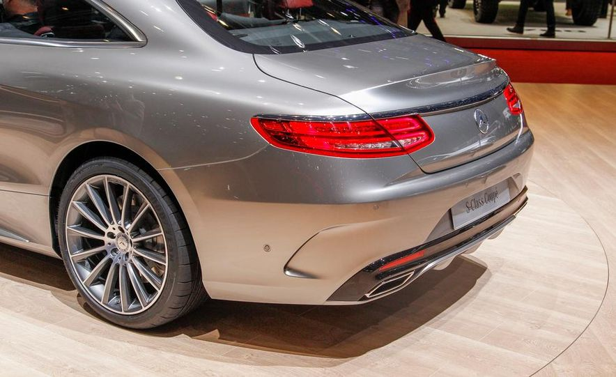 2015 Mercedes-Benz S-class Coupe - Slide 16