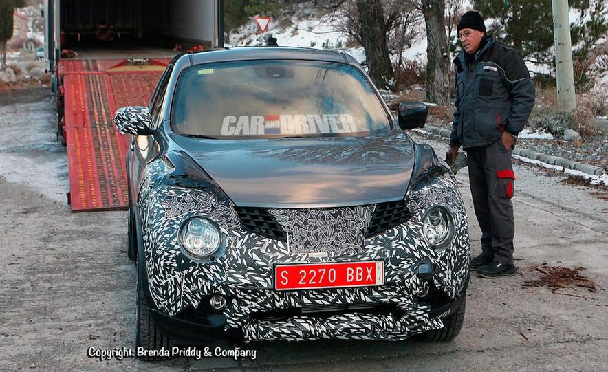 2015 Nissan Juke (spy photo) - Slide 1