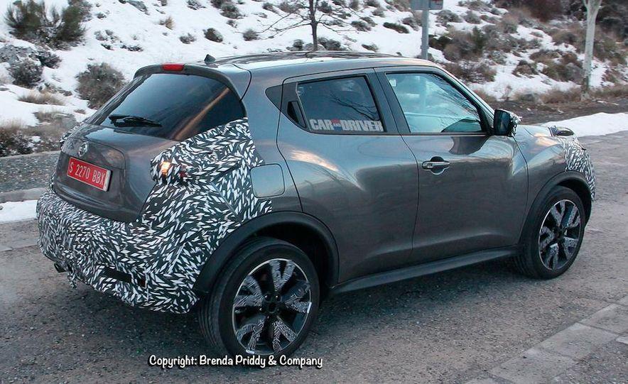 2015 Nissan Juke (spy photo) - Slide 5