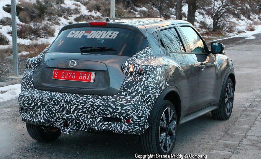 2015 Nissan Juke (spy photo) - Slide 6