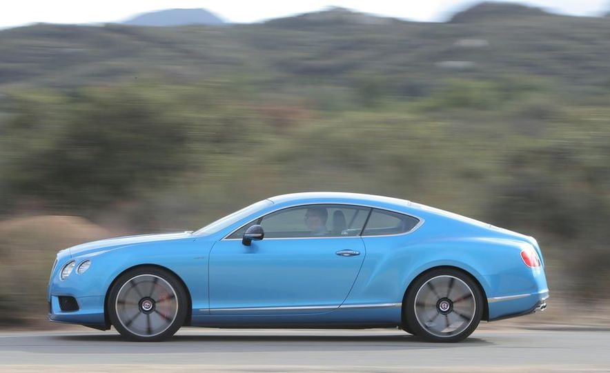 2014 Bentley Continental GT V8S coupe - Slide 1