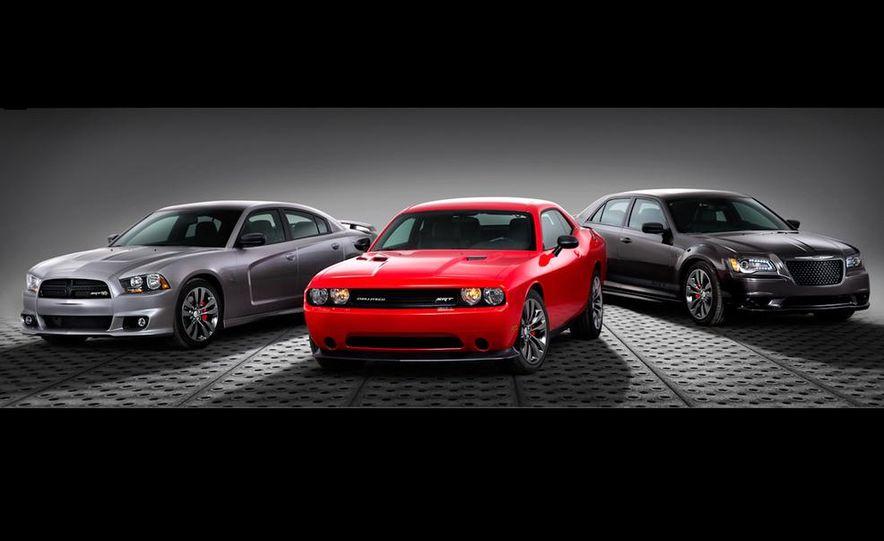 2014 Dodge Charger SRT, Challenger SRT, and Chrysler 300 SRT Satin Vaport Editions - Slide 1
