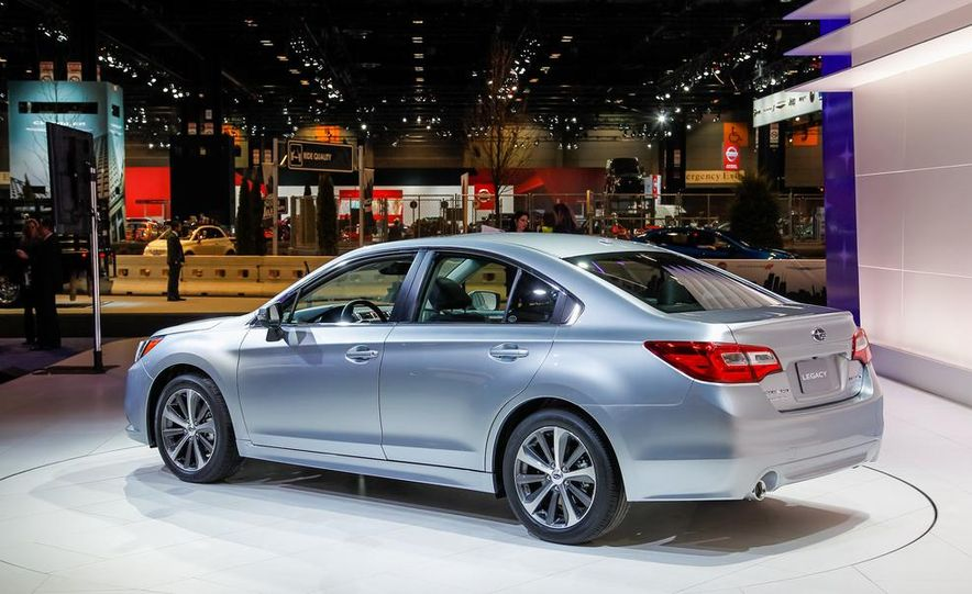 2015 Subaru Legacy - Slide 2
