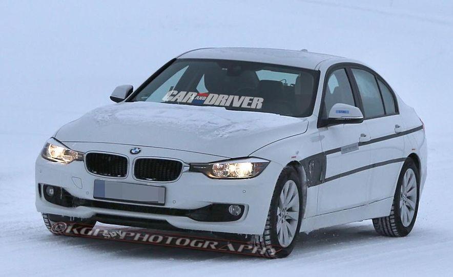 2017 BMW 3-series eDrive PHEV (spy photo) - Slide 1