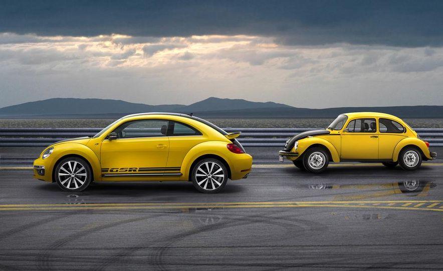 1973 Volkswagen Super Beetle GSR and 2014 Volkswagen Beetle GSR - Slide 3