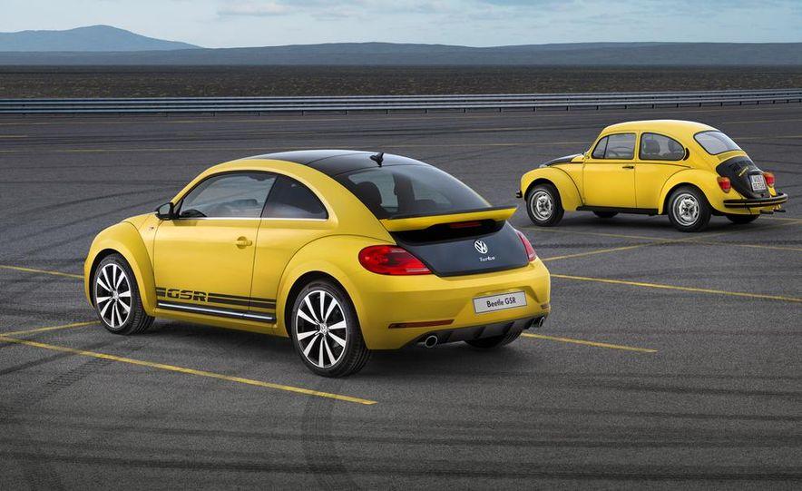 1973 Volkswagen Super Beetle GSR and 2014 Volkswagen Beetle GSR - Slide 4