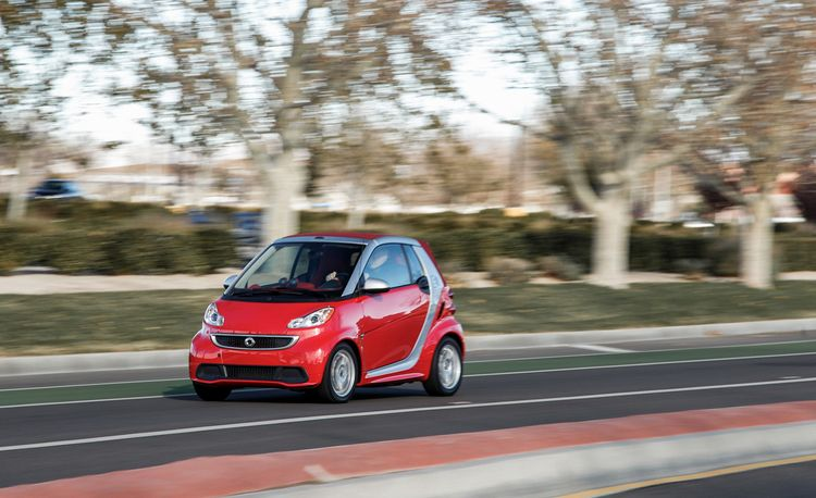 2013 Smart Fortwo ED Cabriolet