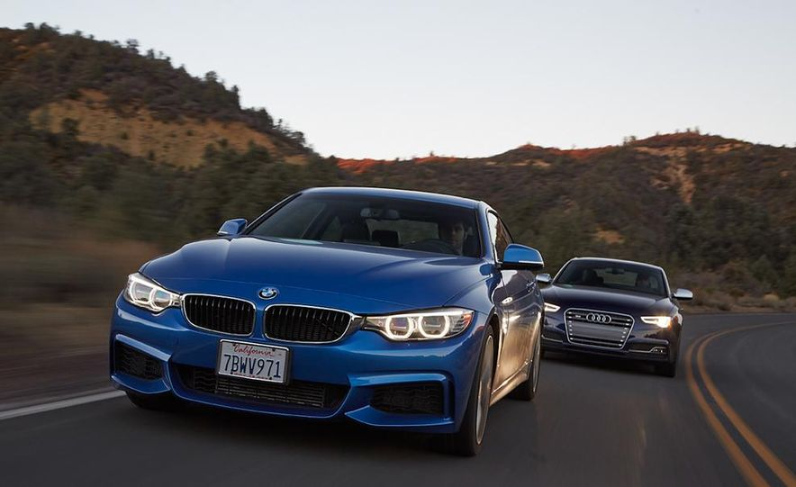 2014 BMW 435i and 2014 Audi S5 - Slide 1