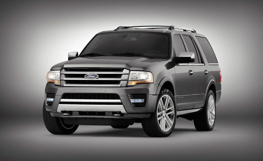 2015 Ford Expedition Platinum EcoBoost - Slide 1
