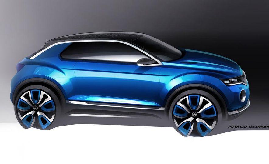 Volkswagen T-ROC concept - Slide 30