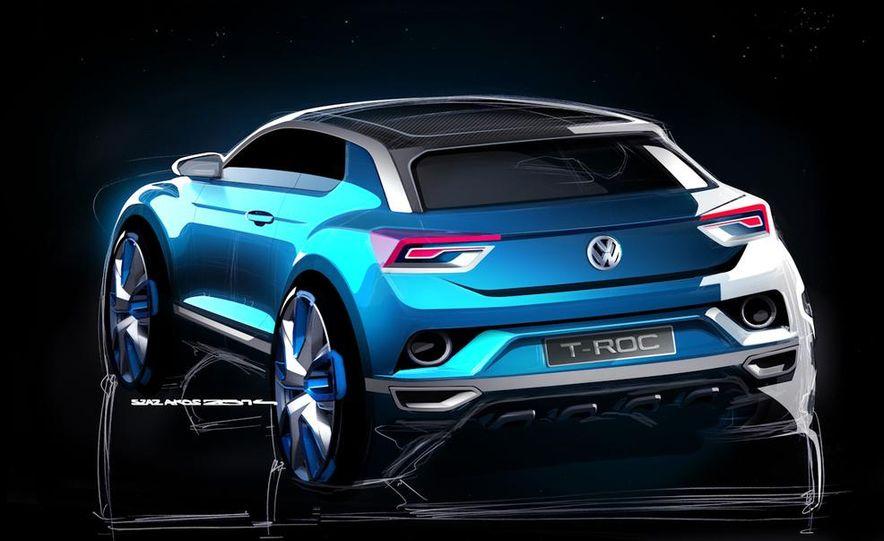 Volkswagen T-ROC concept - Slide 31