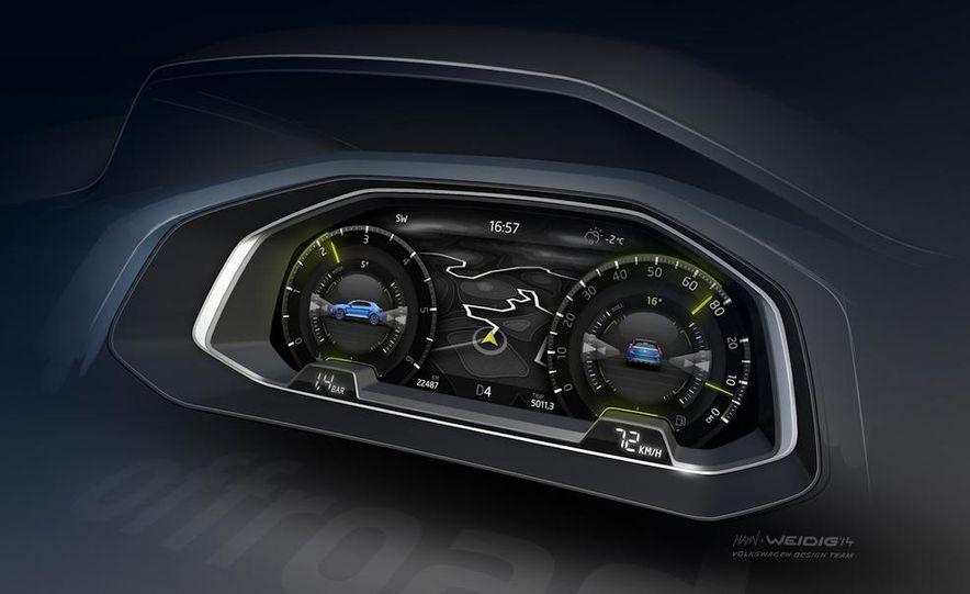 Volkswagen T-ROC concept - Slide 35