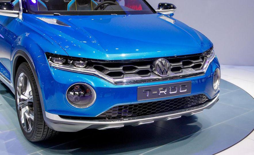 Volkswagen T-ROC concept - Slide 8