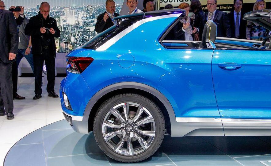 Volkswagen T-ROC concept - Slide 13