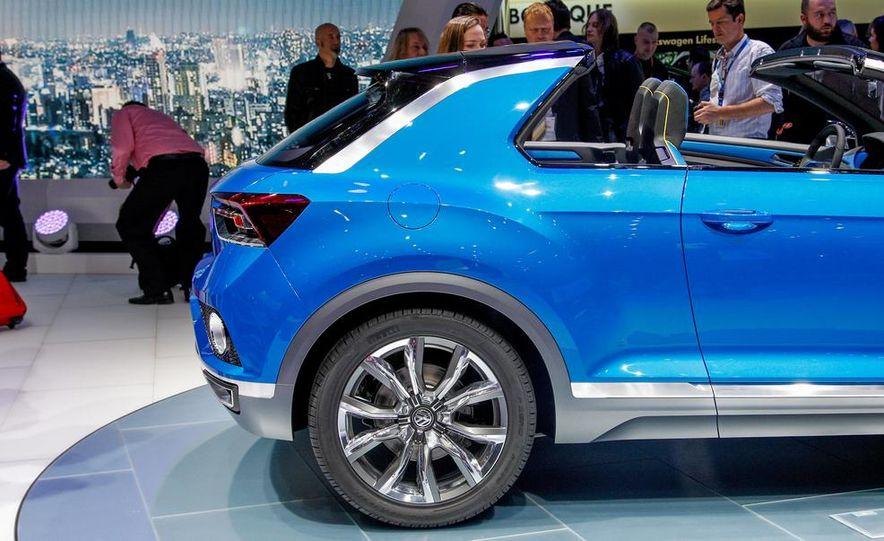Volkswagen T-ROC concept - Slide 14