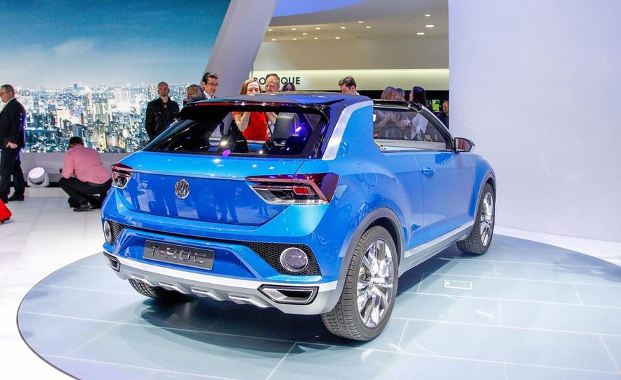 Volkswagen T-ROC concept - Slide 18