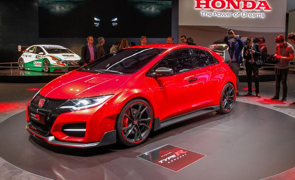 Honda Civic Type R concept Pictures  Photo Gallery  Car and Driver
