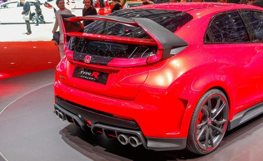 Honda Civic Type R concept - Slide 11