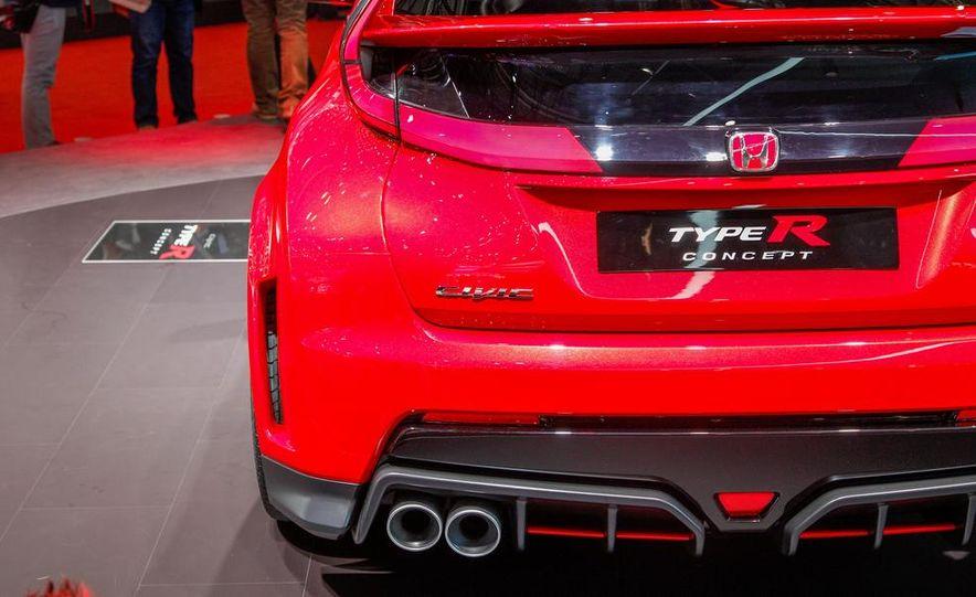 Honda Civic Type R concept - Slide 14