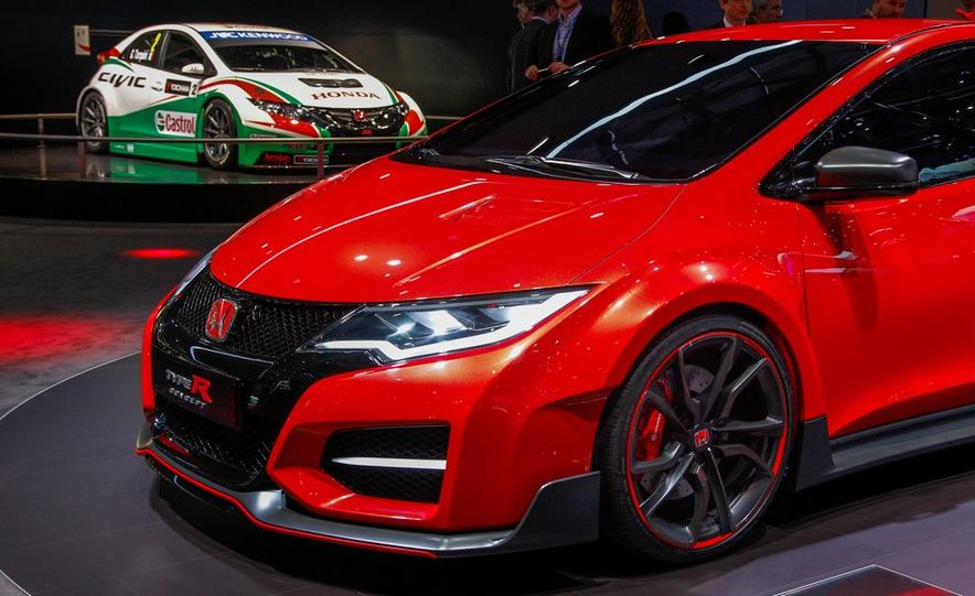 Honda Civic Type R concept - Slide 17
