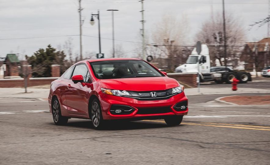 2014 Honda Civic coupe - Slide 1