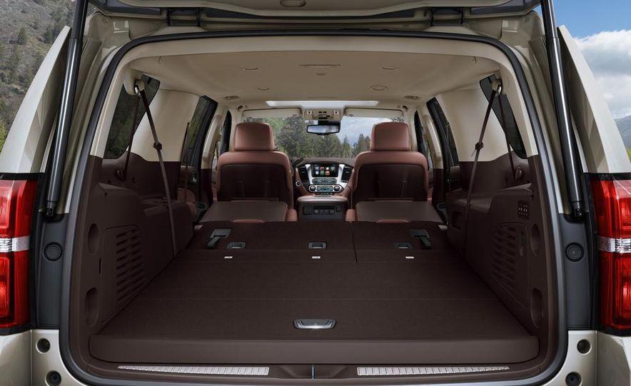 2015 Chevrolet Tahoe LT and Suburban LTZ - Slide 23