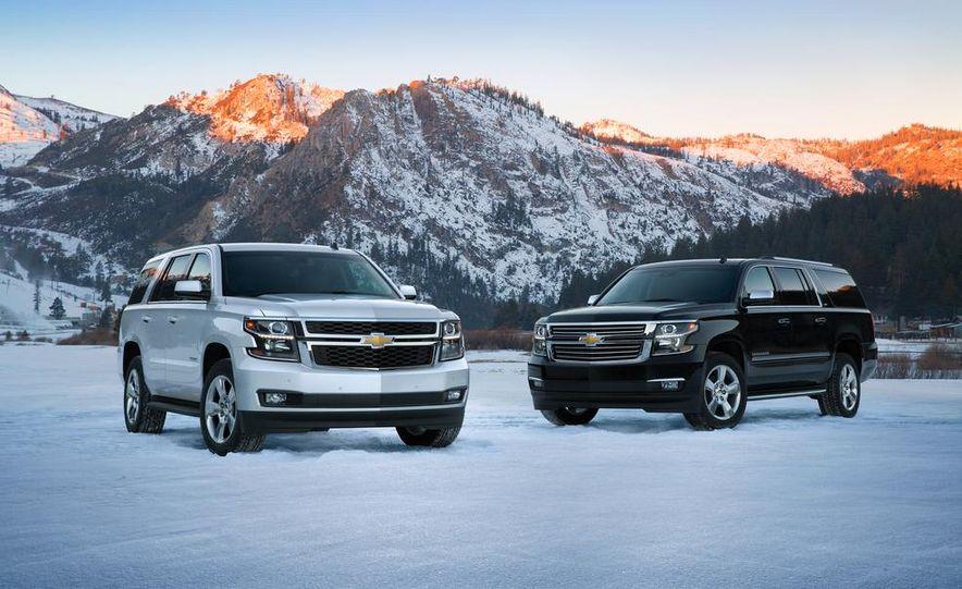 2015 Chevrolet Tahoe LT and Suburban LTZ - Slide 1
