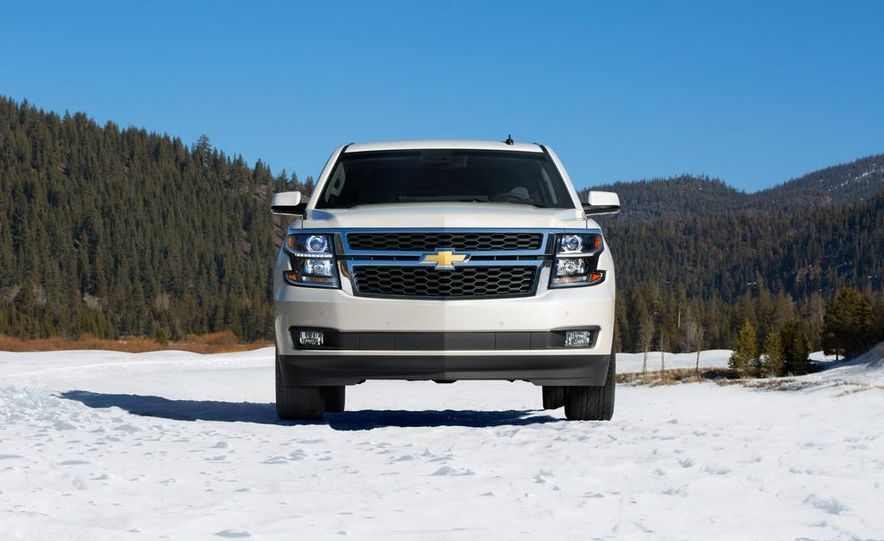 2015 Chevrolet Tahoe LT and Suburban LTZ - Slide 3