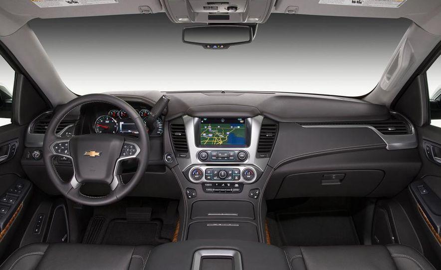 2015 Chevrolet Tahoe LT and Suburban LTZ - Slide 11