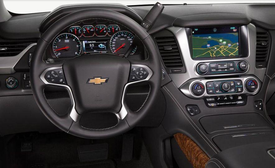 2015 Chevrolet Tahoe LT and Suburban LTZ - Slide 12