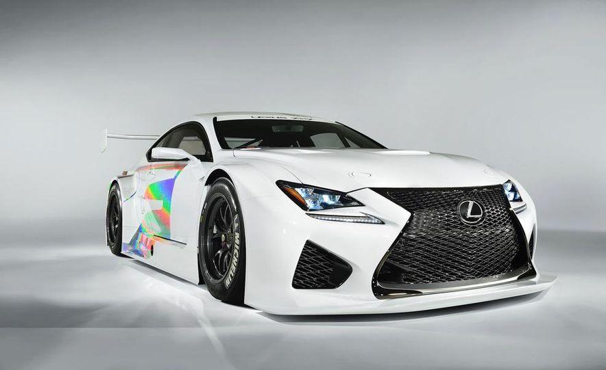 Lexus RC F GT3 concept - Slide 22