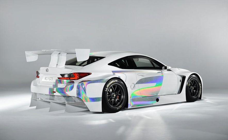 Lexus RC F GT3 concept - Slide 27