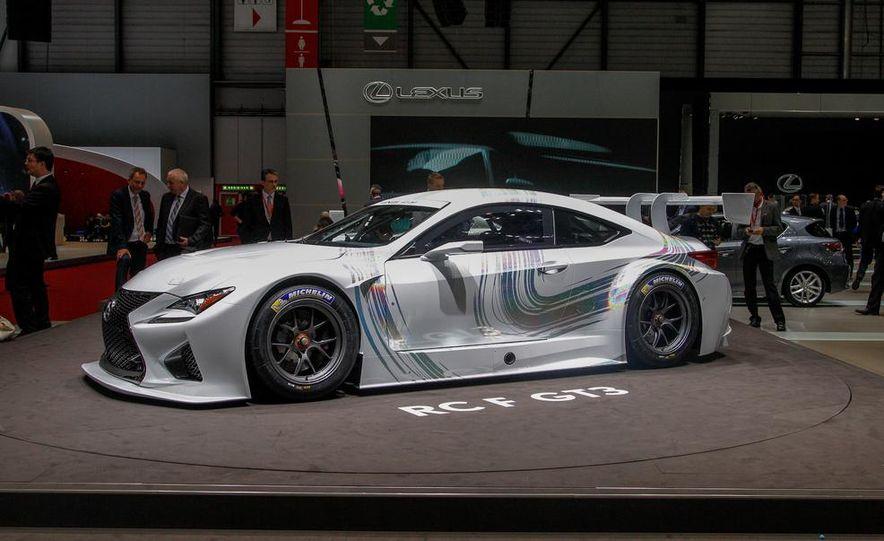 Lexus RC F GT3 concept - Slide 1