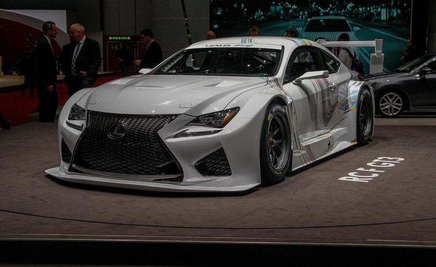 Lexus RC F GT3 concept - Slide 2