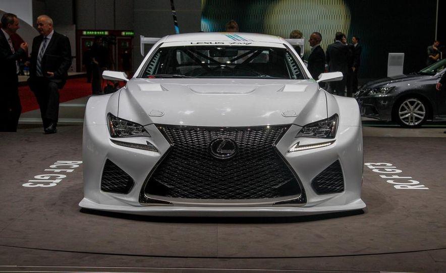 Lexus RC F GT3 concept - Slide 3