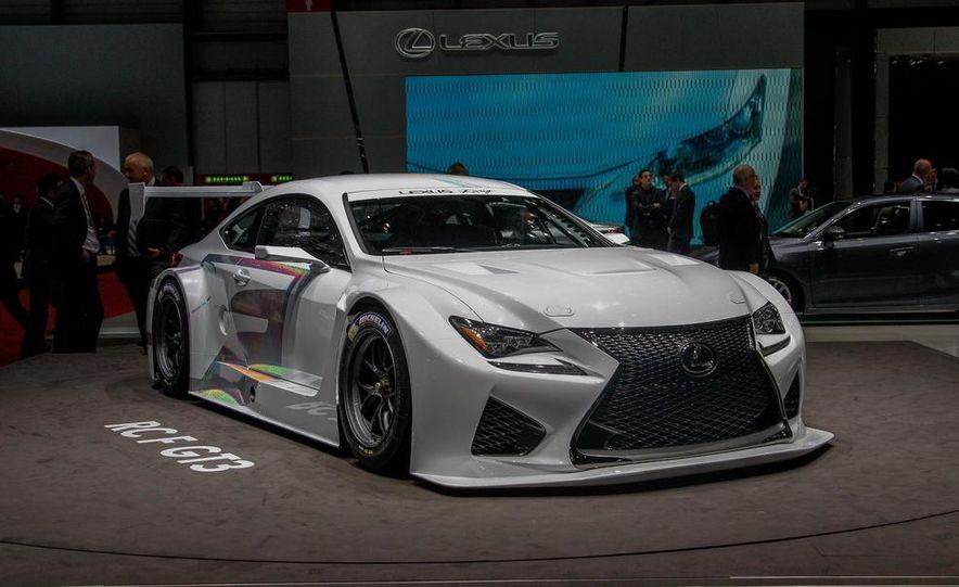 Lexus RC F GT3 concept - Slide 4
