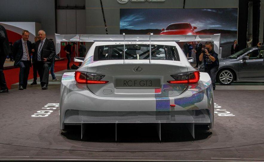 Lexus RC F GT3 concept - Slide 8