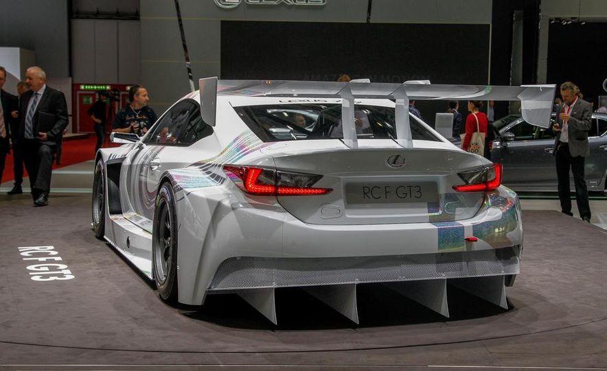 Lexus RC F GT3 concept - Slide 9