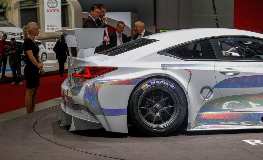 Lexus RC F GT3 concept - Slide 11