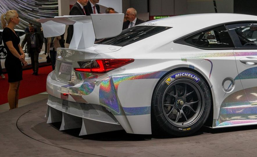Lexus RC F GT3 concept - Slide 12