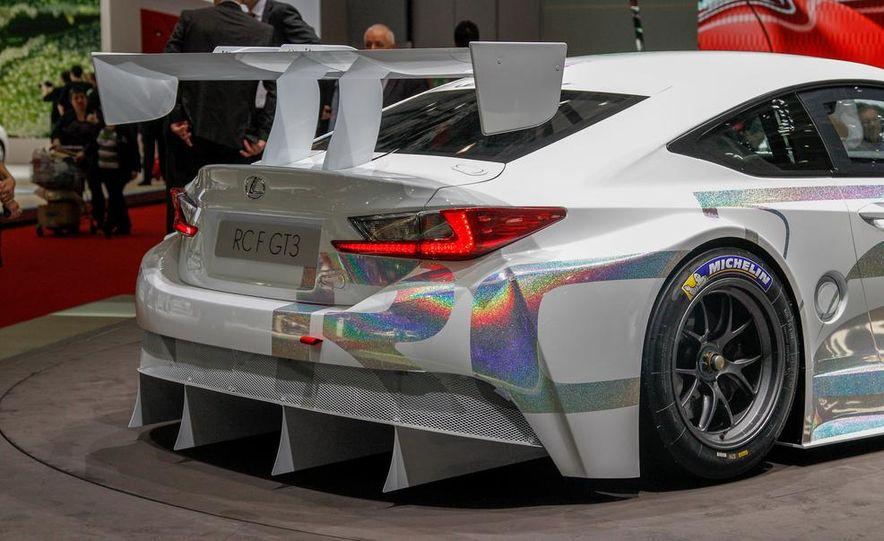 Lexus RC F GT3 concept - Slide 13