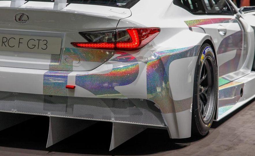 Lexus RC F GT3 concept - Slide 14