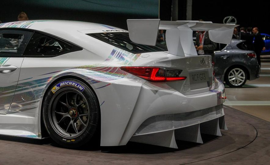Lexus RC F GT3 concept - Slide 15
