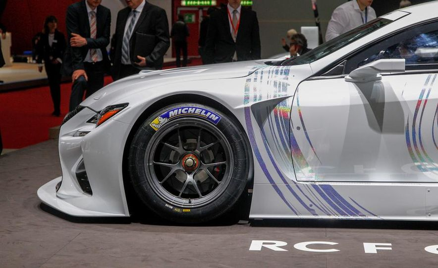 Lexus RC F GT3 concept - Slide 17